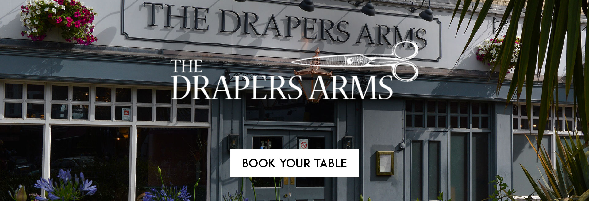 Book Your Table at The Drapers Arms